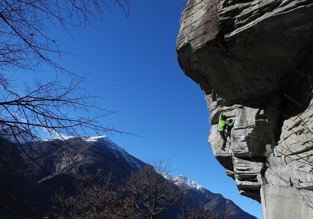 Winter Klettern
